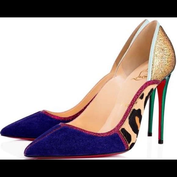 89c4f29b37 Christian Louboutin Shoes - Christian Louboutin Serianina 100mm Red Sole